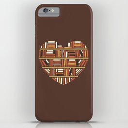 I Heart Books iPhone Case