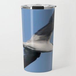 Sandwich Tern In Flight Vector Travel Mug