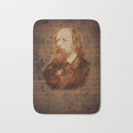 Alfred Tennyson Bath Mat