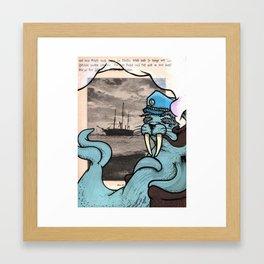 Captain Nansen Framed Art Print