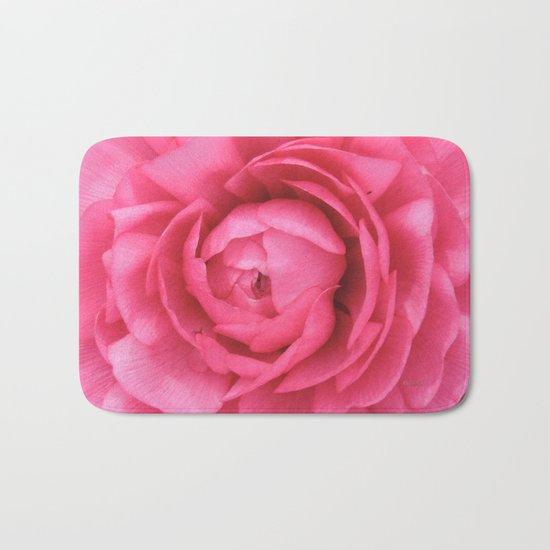 Petals in the Pink Bath Mat
