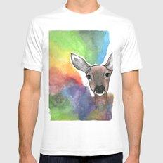 Deer Dream MEDIUM Mens Fitted Tee White