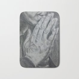 A Study In Hands - Sherlock Bath Mat