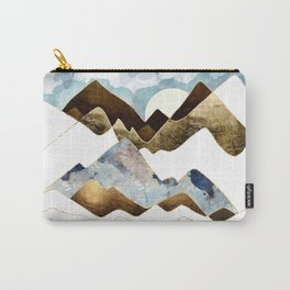 Minimal Abstract Mountains Carry-All Pouch