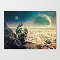 Watching Closely Canvas Print