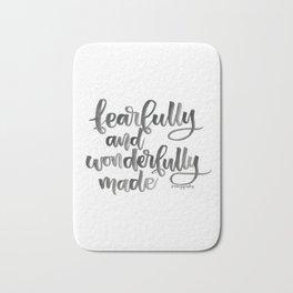 Fearfully and Wonderfully Made Bath Mat