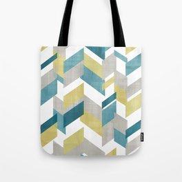 Bright geometrical pattern Tote Bag