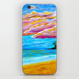 Pāʻia Bay Sunrise iPhone Skin