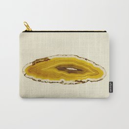 Agate - Yellow Slice Carry-All Pouch