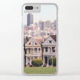 San Francisco Skyline Clear iPhone Case