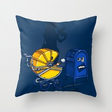 Sending it back Throw Pillow