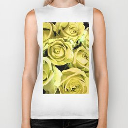 Yellow Roses for You Biker Tank