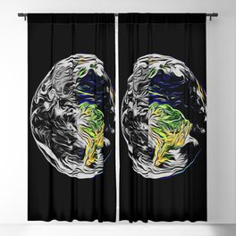 Save the Earth Blackout Curtain