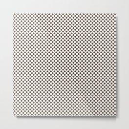 Desert Palm Polka Dots Metal Print