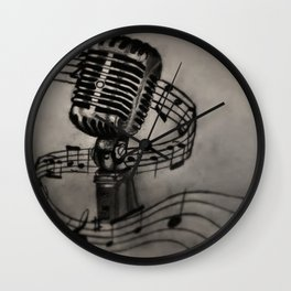 The power of song Wall Clock