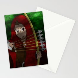 Legend of The Red Hood  Stationery Cards