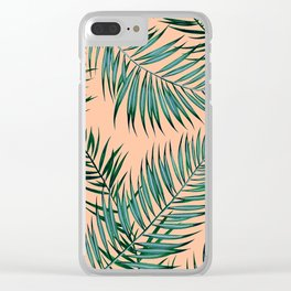 Shade in Apricot Clear iPhone Case
