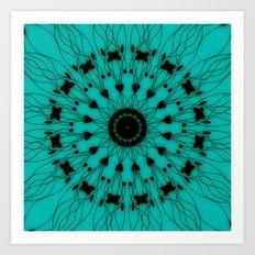 Root Mandala Art Print