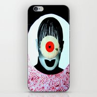 cyclops iPhone & iPod Skins featuring CYCLOPS by Moni Wilk