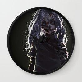 Zombie Boy (#Drawlloween2016 Series) Wall Clock
