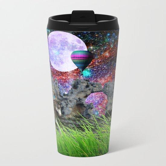 dreaming planet Metal Travel Mug