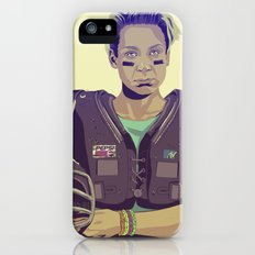 80/90s - Brie... iPhone (5, 5s) Slim Case