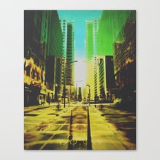 Montreal scene Canvas Print