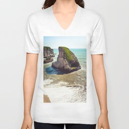 Shark Fin Cove Broad Day Unisex V-Neck
