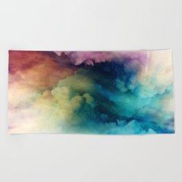 Rainbow Dreams Beach Towel
