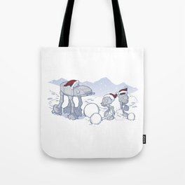 Happy Hoth-idays! Tote Bag