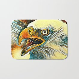 AnimalArt_Eagle_20170601_by_JAMColorsSpecial Bath Mat