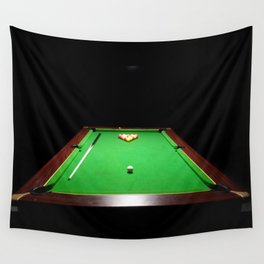 Pool Table Wall Tapestry