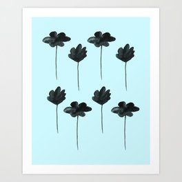 Waterflowers Art Print