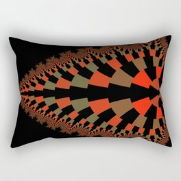 Tear Drop in Red Rectangular Pillow