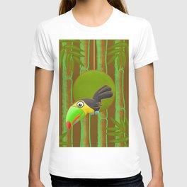 Inquisitive Toucan! T-shirt