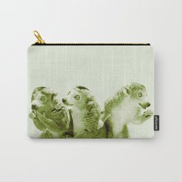 Monochrome - the lemur honeytrap Carry-All Pouch