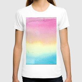 Pansexual Watercolor Wash T-shirt