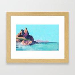 Madeira island Framed Art Print