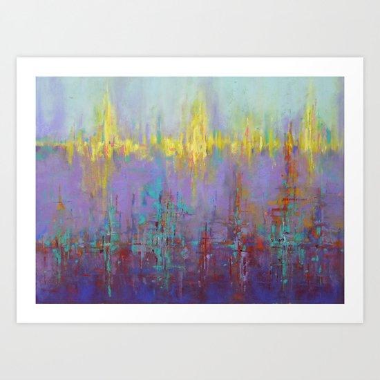 Dubstep IV Art Print