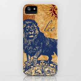 leo | löwe iPhone Case