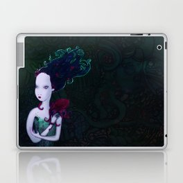 Mermaid & Mr Bubbles Laptop & iPad Skin