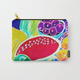 My Fruit Bounty             by Kay Lipton Carry-All Pouch