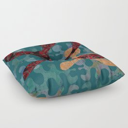 Going With the Flow Floor Pillow