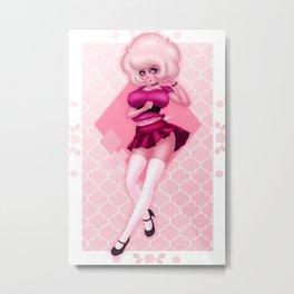 So Pink Diamond Metal Print