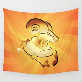 Sternzeichen Widder Wall Tapestry