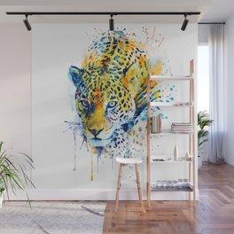 Lurking Leopard Wall Mural