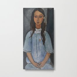 Alice by Amedeo Modigliani Metal Print