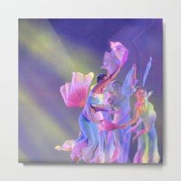 Dancers Metal Print