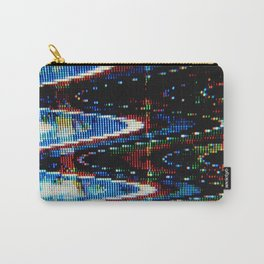 VHS-STYLE DISTORTION Carry-All Pouch