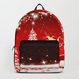 Santa Beautiful Christmas Backpack
